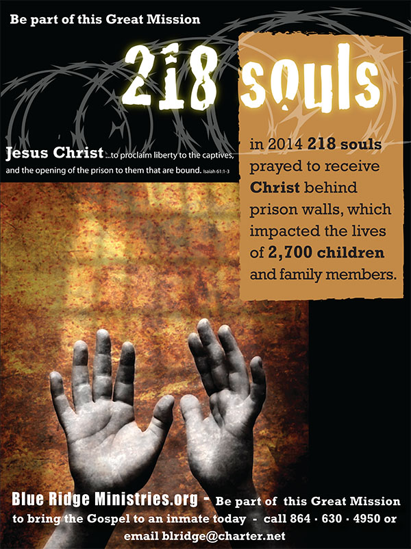 Be part of this great mission. 218 Souls!